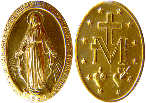 The Miraculous Medal - Wikimedia Commons