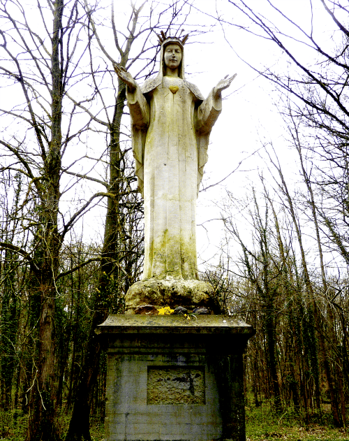 Our Lady of Beauraing - Parc du Castel, Belgium