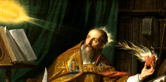 St. Augustine by Philippe de Champaigne (1602-1674)
