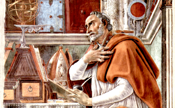 St. Augustine in His Study - by Sandro Botticelli (1480)