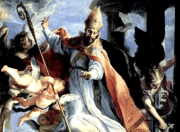 Triumph of St. Augustine by Claudio Coello (1664)