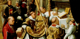 The Mass of St. Gregory the Great by Adriaen Ysenbrandt