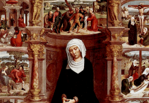 Our Lady of the Seven Sorrows by Adriaen Isenbrandt