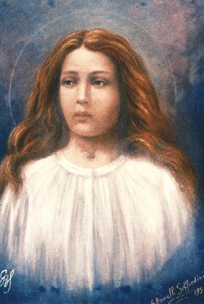 St. Maria Goretti - by Giuseppe Brovelli-Soffredini (1929)