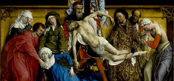The Descent from the Cross by Rogier van der Weyden
