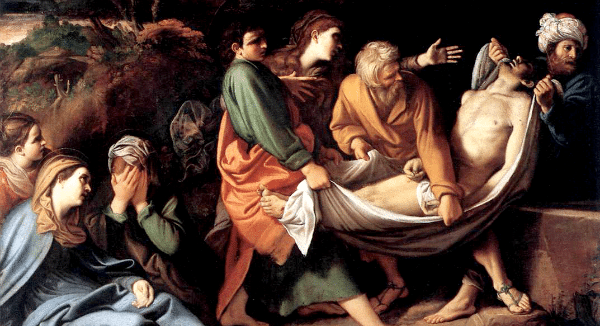 The Entombment of Christ by Sisto Badalocchio (c. 1610)