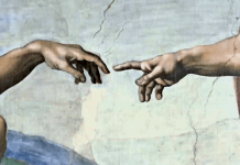 Creation of Adam by Michelangelo c. 1511