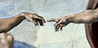 Creation of Adam by Michelangelo c. 1511