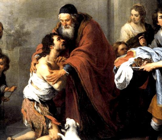 The Return of the Prodigal Son by Bartolomé Esteban Murillo
