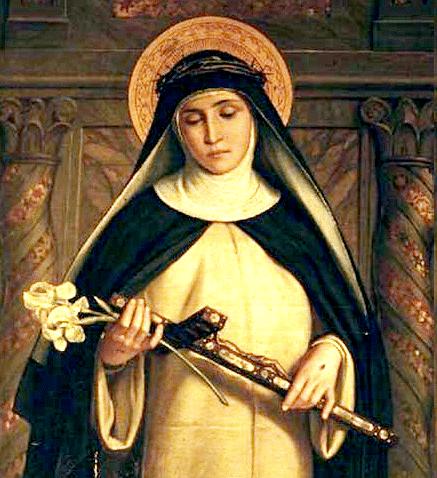 Saint Catherine of Siena - Santa Maria del Rosario in Prati, Rome