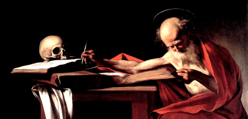 St. Jerome by Caravaggio (1606)