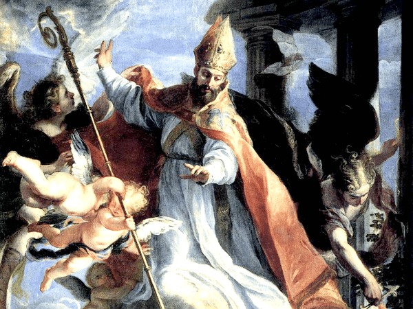 Triumph of St. Augustine by Claudio Coello (1664)
