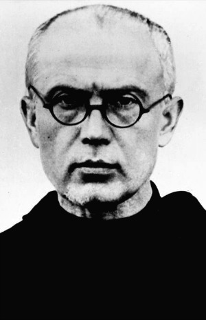 St. Maximilian Kolbe (1940) - Martyred at Auschwitz concentration camp