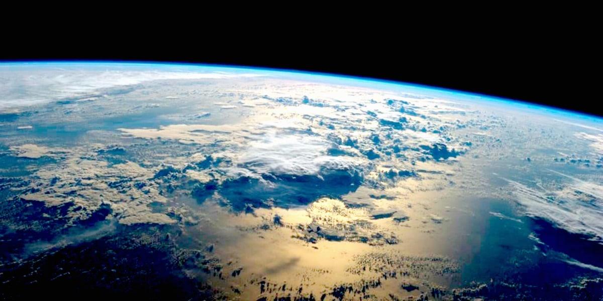 Earth from Space by Reid Wiseman/NASA/EPA