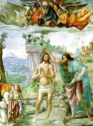 Tornabuoni Chapel - Baptism of Christ