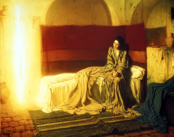 The Annunciation by Henry Ossawa Tanner (1898)
