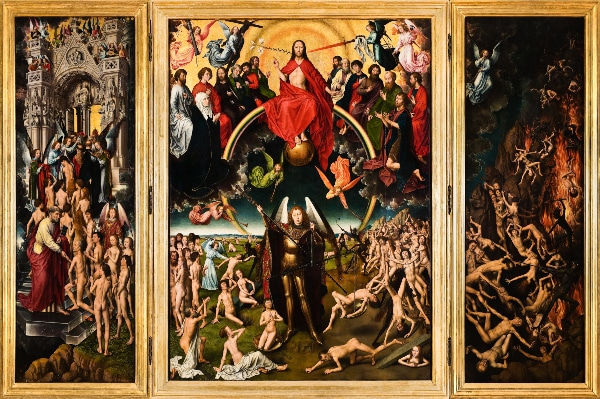 The Last Judgment by Hans Memling (c. 1466 - 1473)