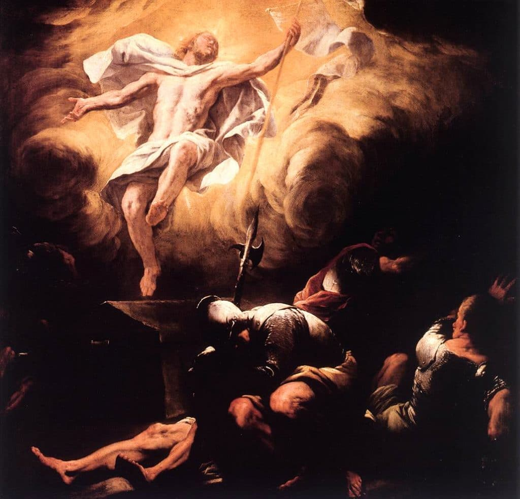 The Resurrection by Luca Giordano (after 1665)