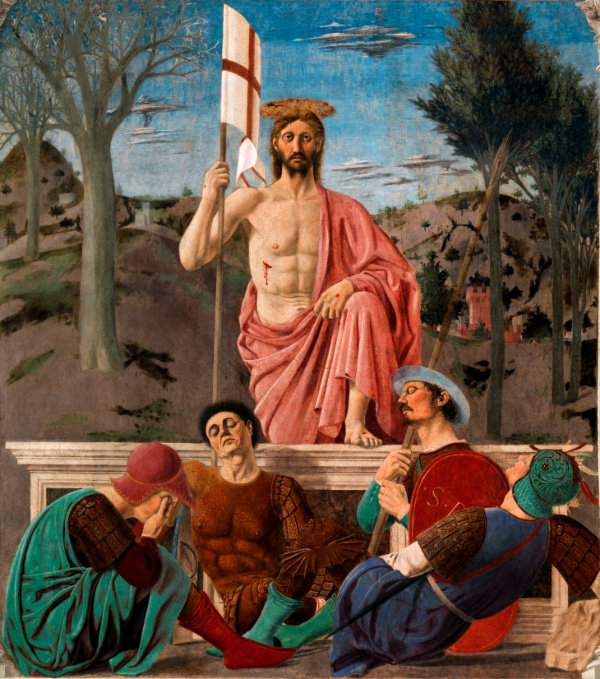 The Resurrection of Jesus Christ by Piero della Francesca (1463)