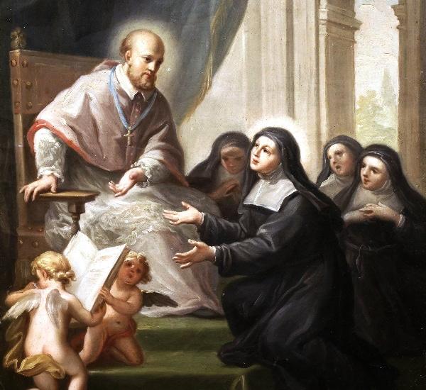 St Francis de Sales by Francisco Bayeu y Subías (18th century)