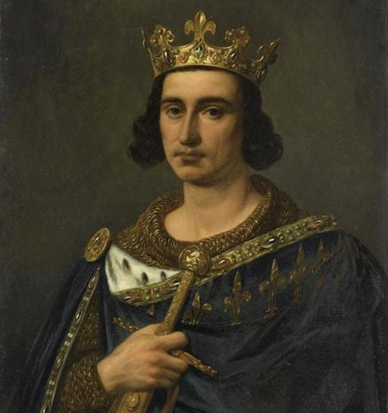 St. Louis IX by Auguste de Creus (1837)