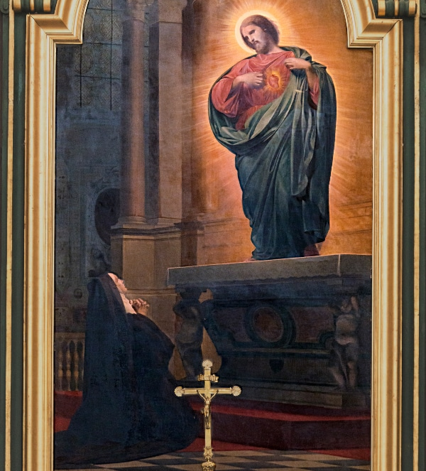 St. Margaret Mary Alacoque by Armand Cambon