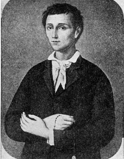 St. Nunzio Sulprizio by Abbé Jean-Marie Séaume (1900)
