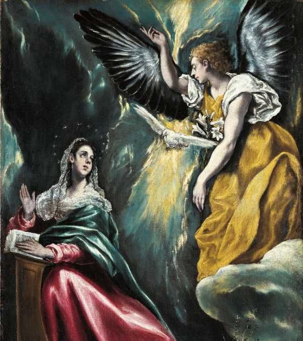 The Annunciation by El Greco (c.1590 - 1603)