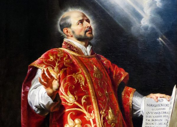 St. Ignatius of Loyola by Peter Paul Rubens (1600s)