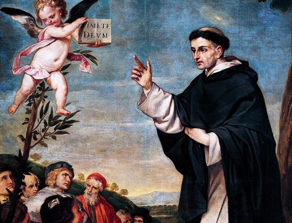 St. Vincent Ferrer Preaching by Alonso Cano (c. 1644-1645)