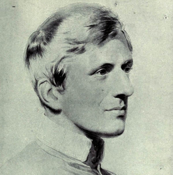 Portrait of John Henry Newman by George Richmond (1844)