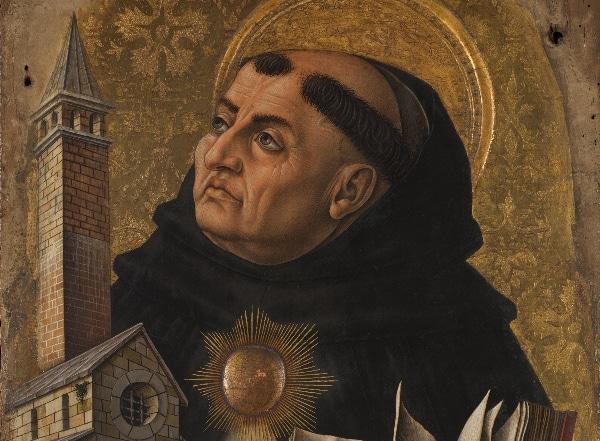 St. Thomas Aquinas by Carlo Crivelli (1476)
