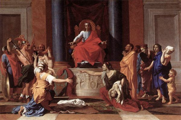 The Judgement of Solomon by Nicolas Poussin (1649)