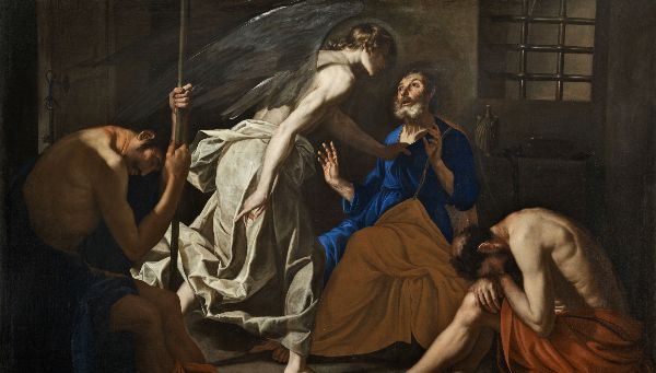 The Liberation of St. Peter by Antonio de Bellis (c. early 1640s)