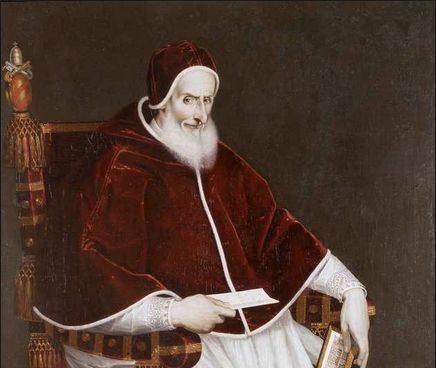 Portrait of Pope Pius V by Palazzo Colonna (16th century)