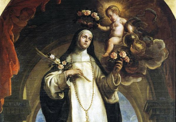 St. Rose of Lima by Claudio Coello (1683)