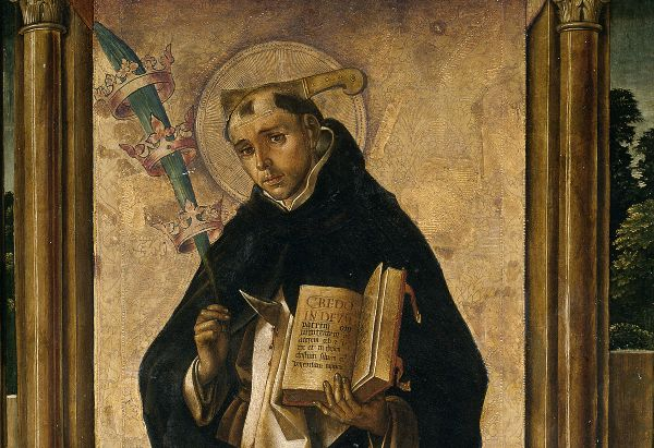St. Peter the Martyr by Pedro Berruguete (c. 1493 - c. 1499)