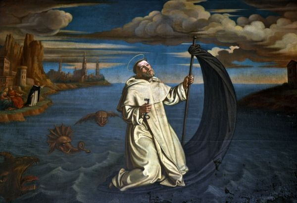 St. Raymond of Penyafort by Tommaso Dolabella (1627)