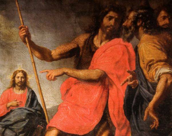 St. John Indicating the Christ to St. Andrew by Ottavio Vannini (17th century)