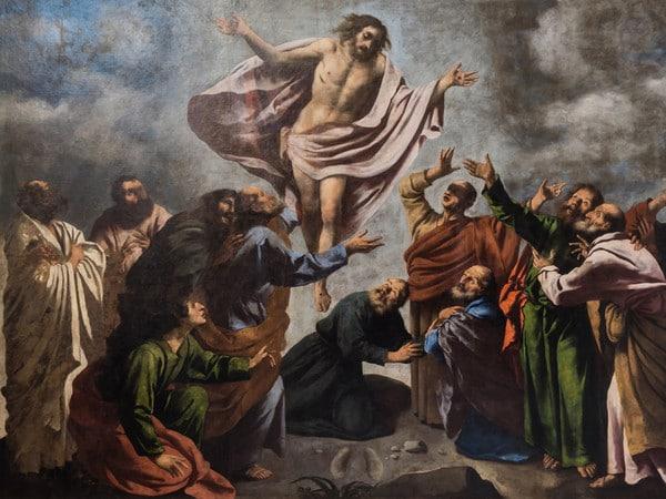 Ascension of Christ by Pietro della Vecchia (1626)