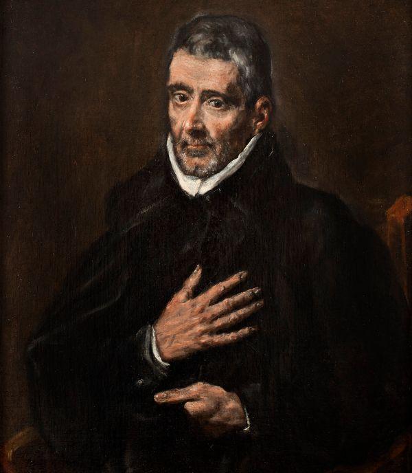 St. John of Ávila attributed to El Greco (1580)